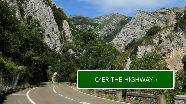 Highway sign title effect for FCPX