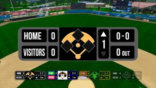 Baseball Bug title for FCPX for baseball statistics