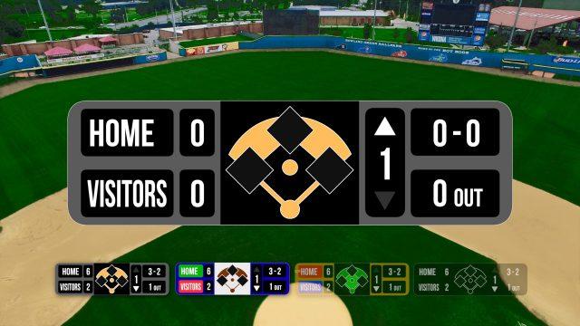 Baseball Bug title for FCPX for baseball statistics