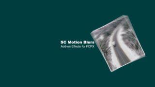 SC Motion Blurs by sight-creations — FCPXTemplates.com