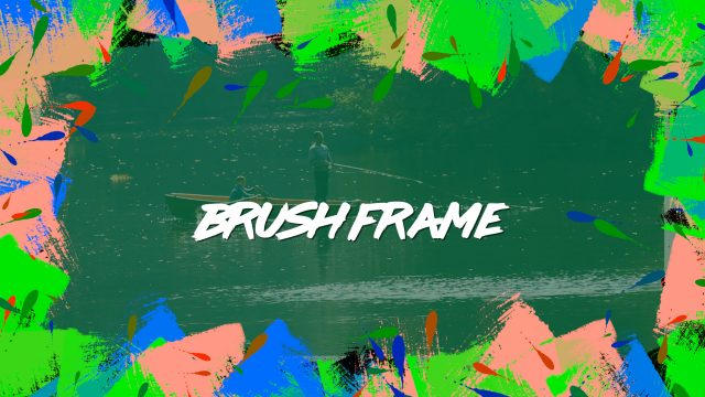 Brush Frame generator for FCPX