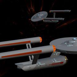Demo of Trekkie Starship font