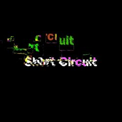 short circuit is a glitch title effect by sight-creations