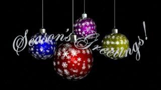 Seasons Greetings free video clip
