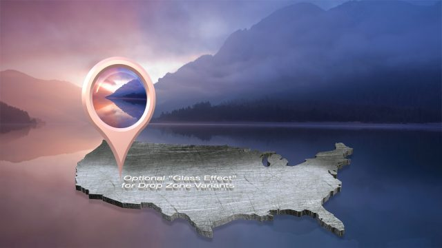 FCPX title effect Location Pin