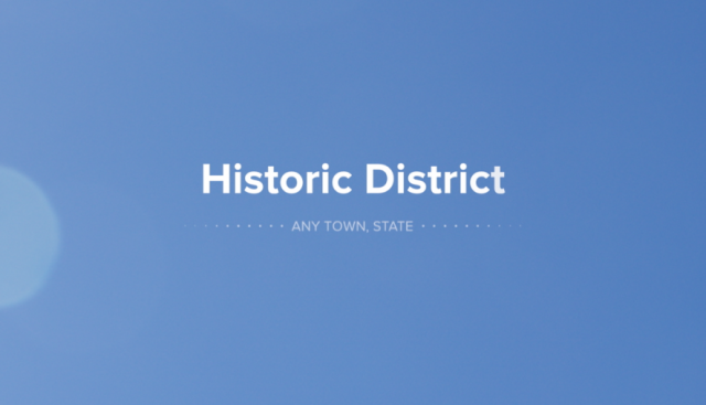 Historic District Title