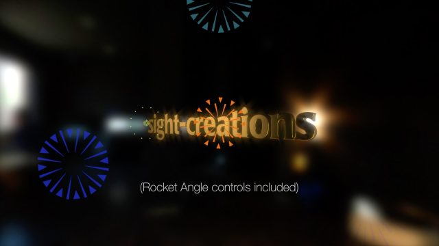 Illustrated Fireworks effect