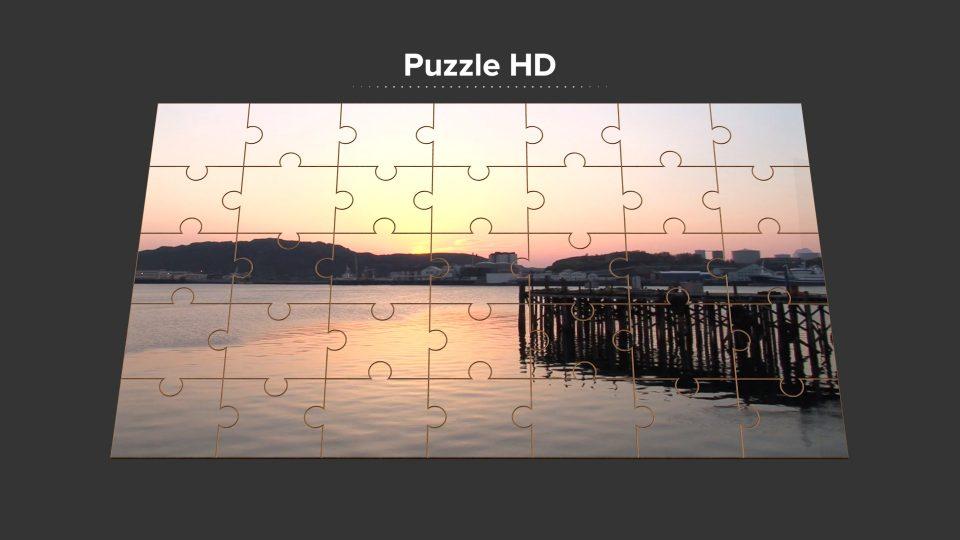 Puzzle HD fcpx generator