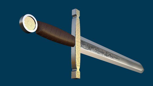 Sword - Celtic briad