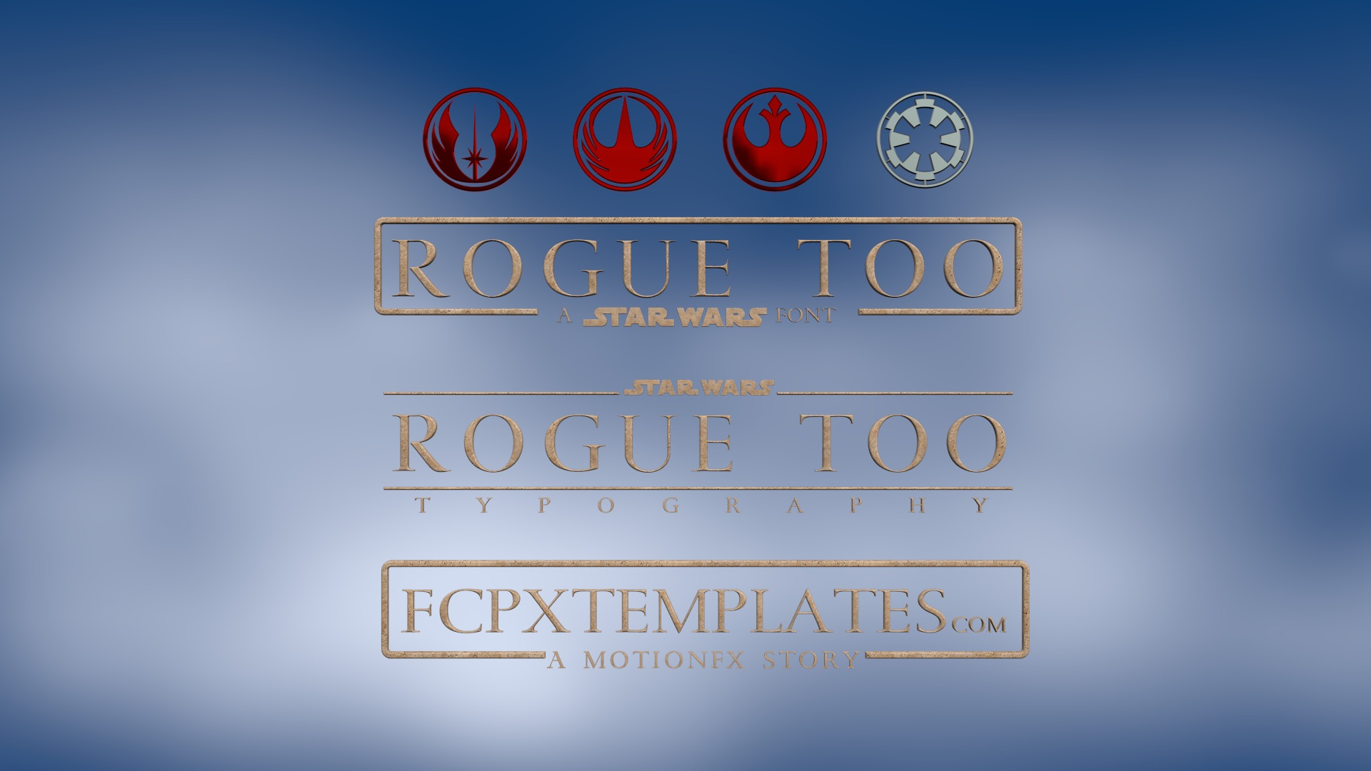 Rogue Too: a font for FCPX Titling – FCPXTemplates