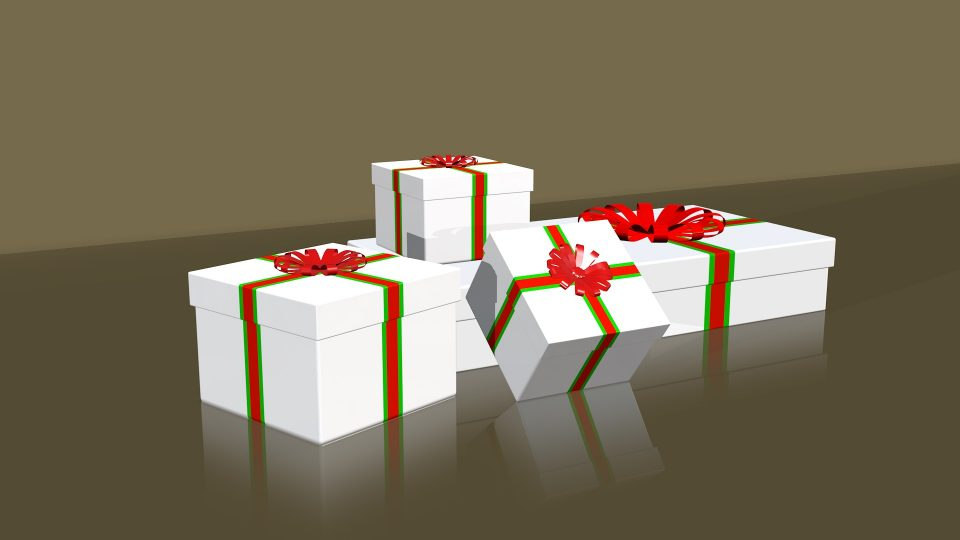 Boxes and Bows 3D Model