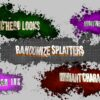 Comic Hero Title variations