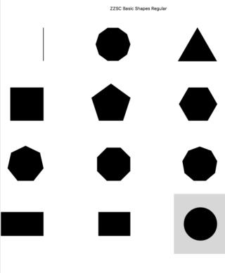 ZZSC Basic Shapes