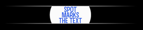 Spot Marks the Text