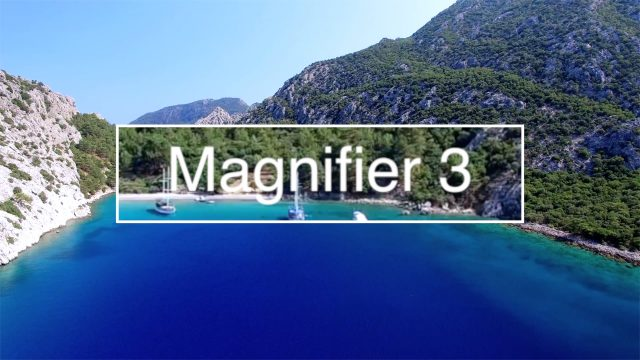 Magnifier 3 feature