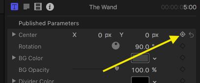 TheWand Keyframe