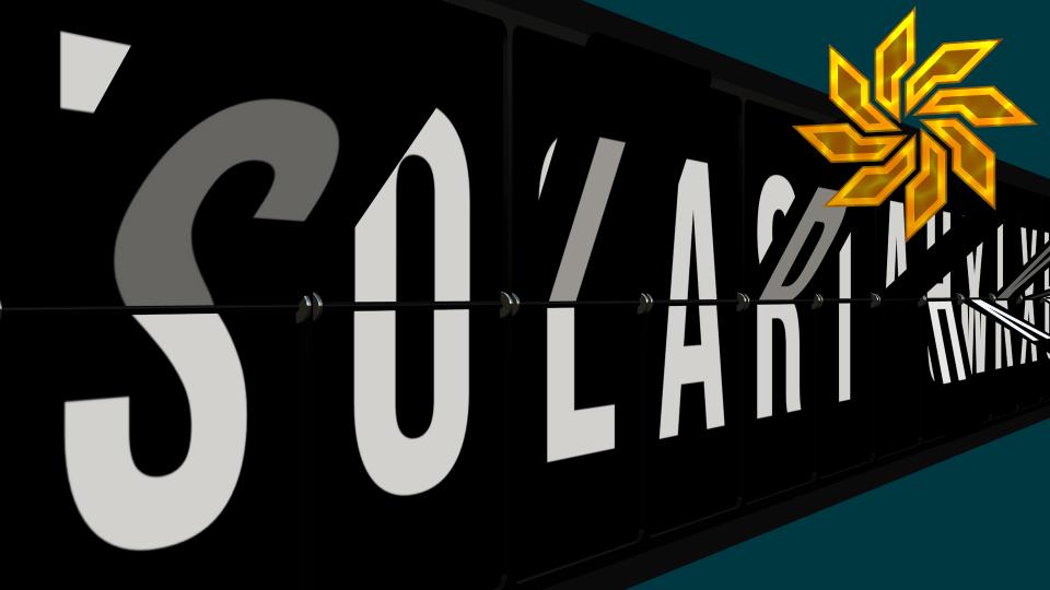 Solari Strip feature with SC logo