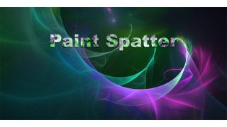Paint Spatter Title