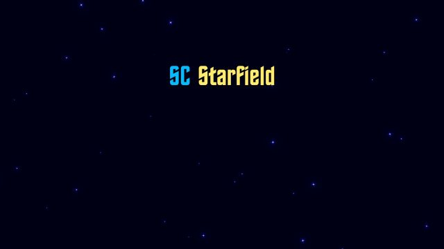 SC Starfield generator plugin