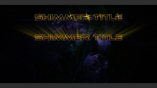 Shimmer Title for FCPX