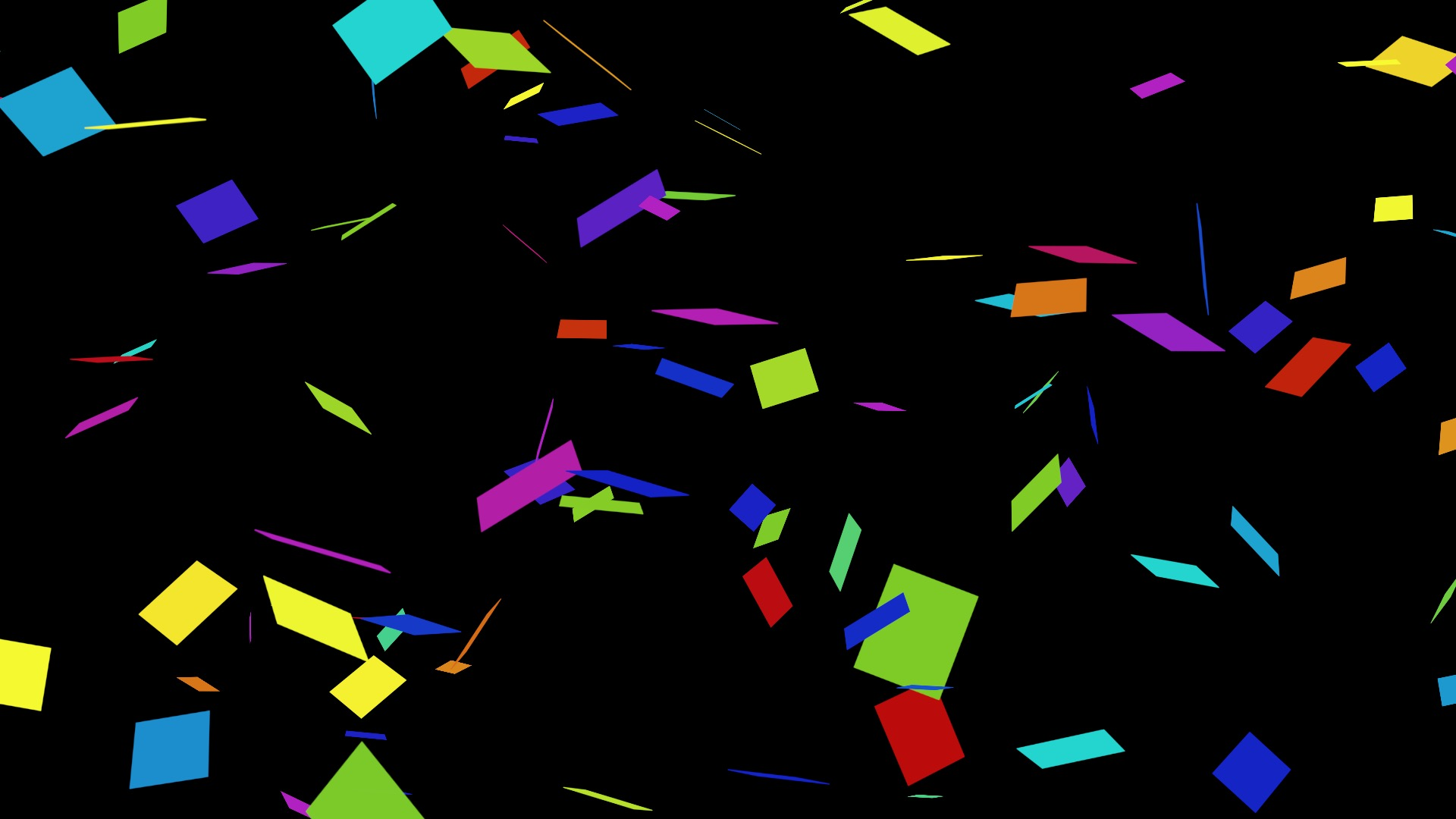 Making Confetti – in Motion