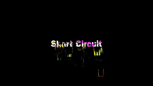 short circuit glitch title for fcpx view 2