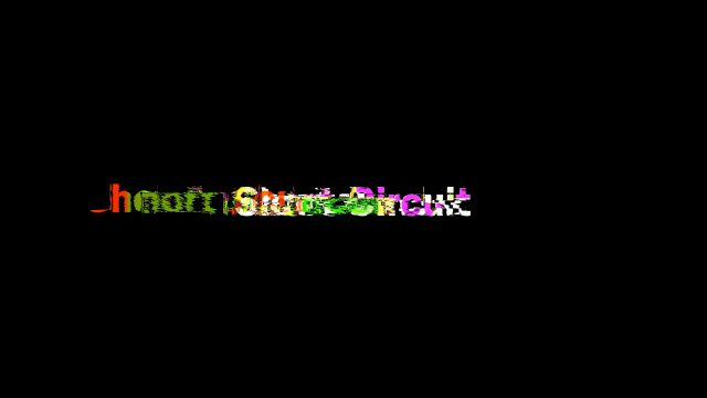 short circuit glitch title for fcpx view 3