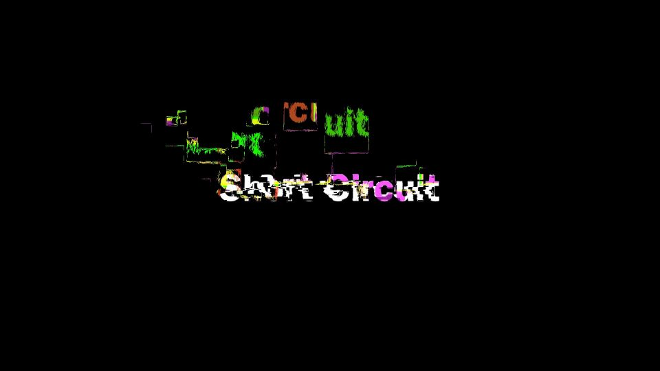 short circuit is a glitch title effect by sight-creations and Short Circuit User Guide