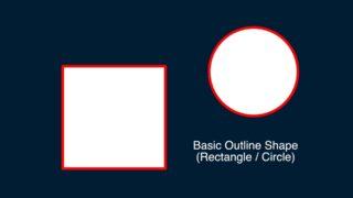 Basic Outline Shape generator feature