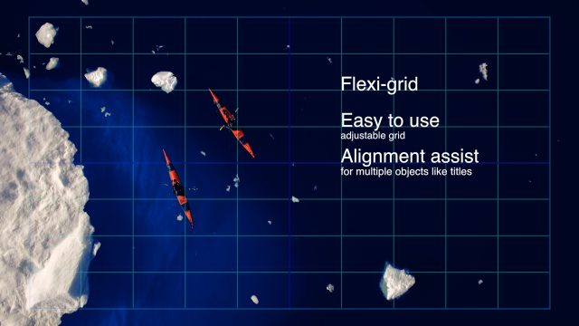 Flexi-grid adjustable grid alignment assist