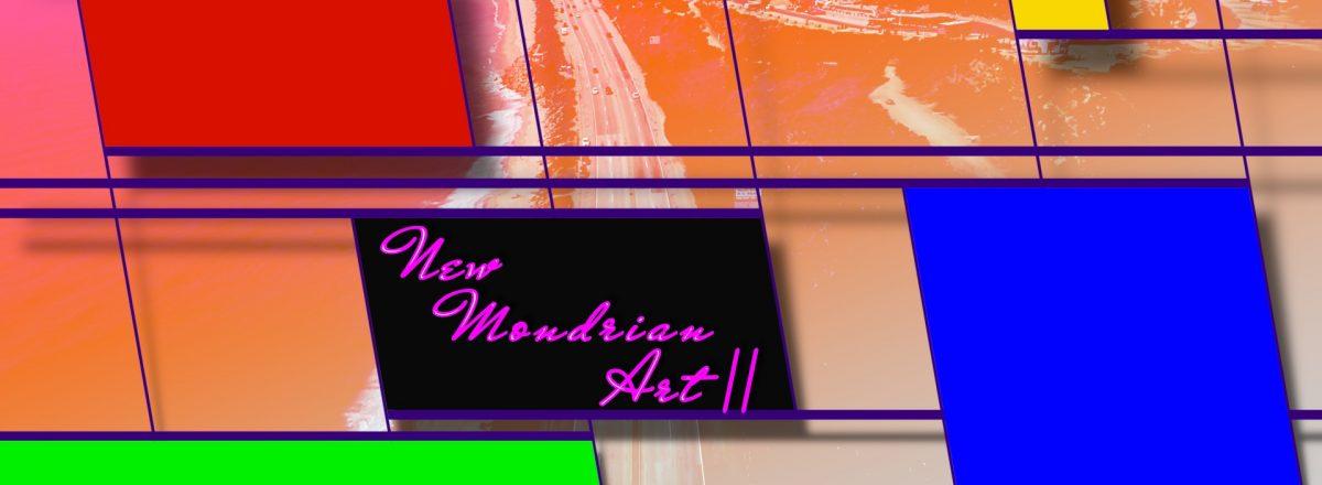 Mondrian Art Title Effect