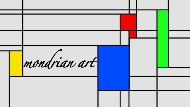 Mondrian Art Title for FCPX