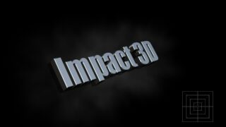 Impact 3D OSC title for final cut pro x
