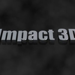 Impact 3D Title for FCPX