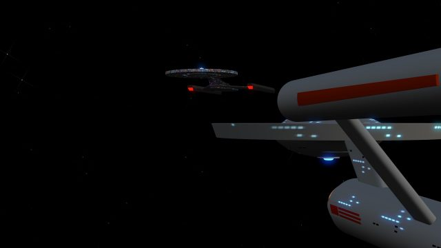USS Discovery and USS Enterprise 3D Models
