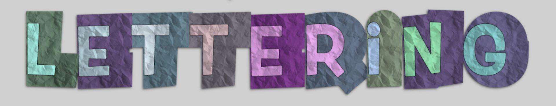 lettering offsets