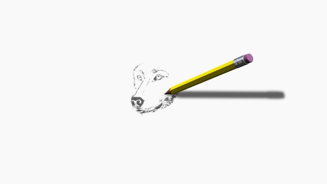 The Pencil 3D model generator for FCPX