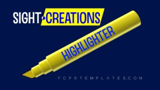 Highlighter User Guide: Highlighter 2 Effects bundle for FCPX