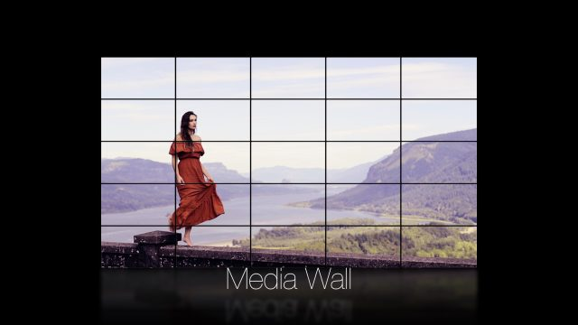 Media Wall Title for FCPX
