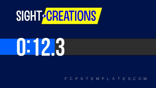 Progress Plus Effect for FCPX