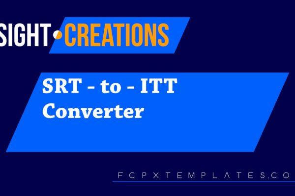 SRT to ITT Converter
