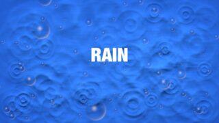 Rain Generator template for FCPX