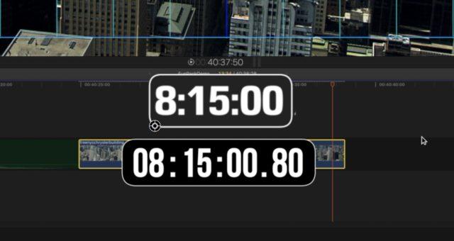Clocks - effects for final cut pro x