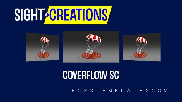 Coverflow effect template for FCPX