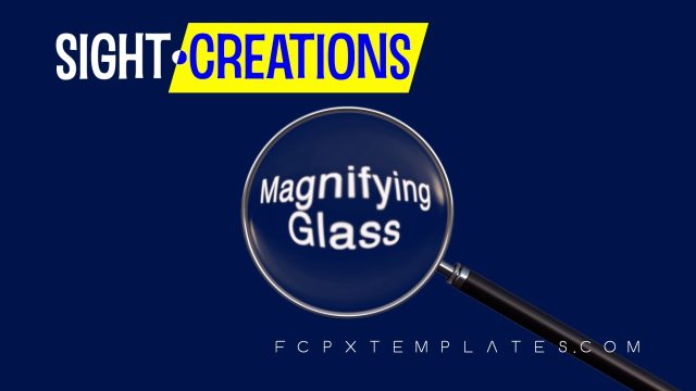 Magnifying Glass - Title for FCPX