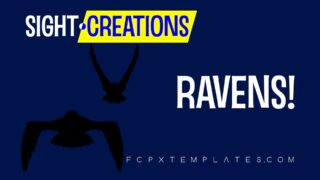 Ravens generator for FCPX product thumbnail