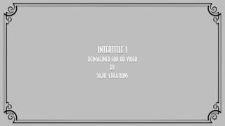 Original silent movie era Intertitle background generator template for FCPX