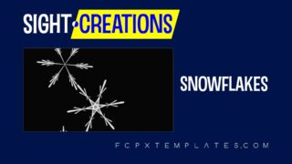 Snowflakes Generator for FCPX