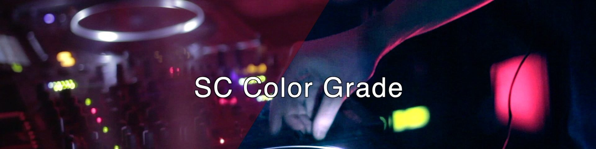SC Color Grade effect can be used for white balance, grading, correction, clarity, and sharpness.