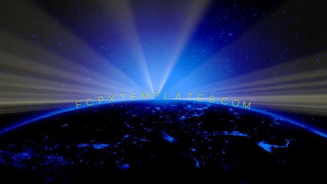 Shine On volumetric lighting effect for FCPX